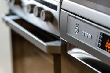 zmywarka w kuchni