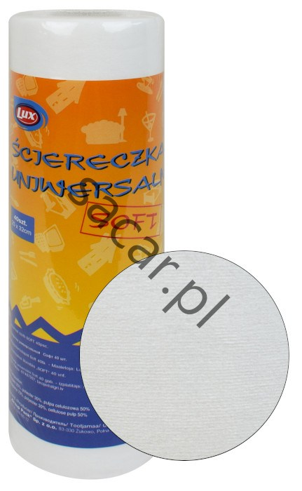 Ścierka uniwersalna SOFT na rolce 40sztuk