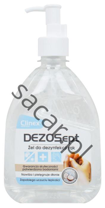 Żel do dezynfekcji rąk Clinex DezoSept
