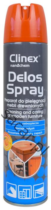 Płyn do pielęgnacji mebli Clinex Delos Spray 300ml