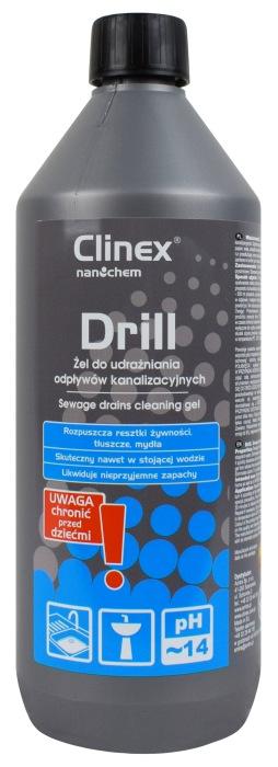 Clinex Drill - udrażniacz do rur i syfonów
