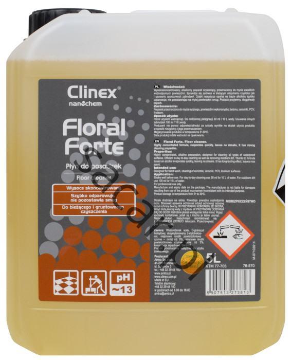 Clinex floral forte do bieżącego utrzymania czystości