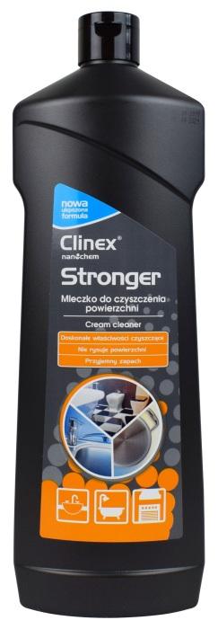 Mleczko Clinex Stronger do kuchenek, blatów, brodzików, chromu