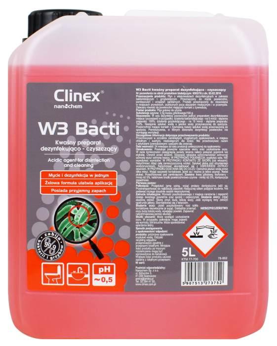 Clinex W3 Bacti bakteriobójczy grzybobójczy
