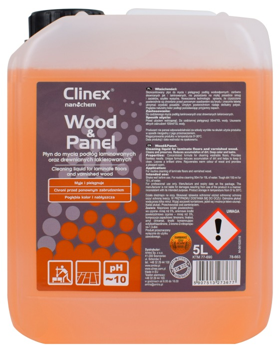 Clinex Wood & Panel do podłóg laminowanych 5L