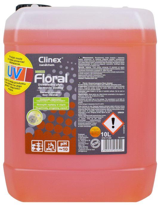 Płyn do codziennego mycia podłóg Clinex Breeze 10L