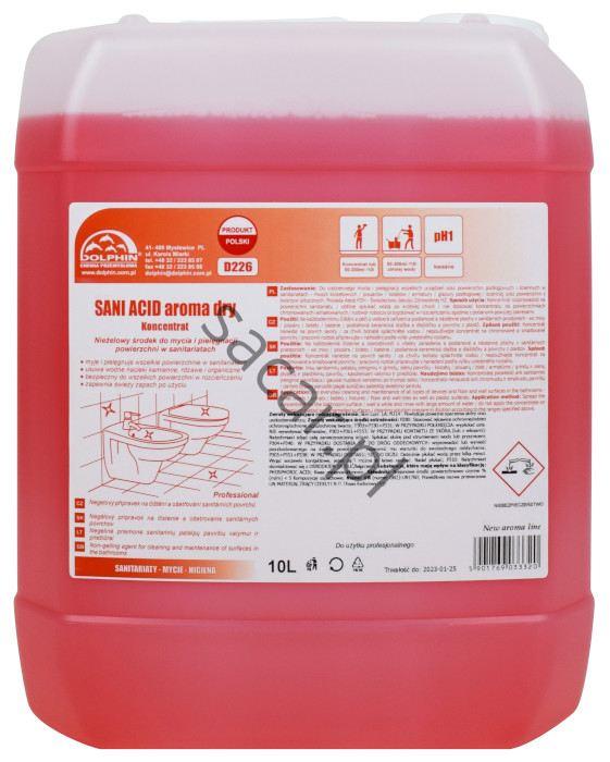 Koncentrat dolphin sani acid aroma dry 10l