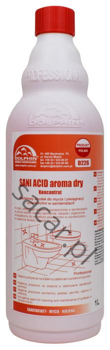 Koncentrat dolphin sani acid aroma dry 1l