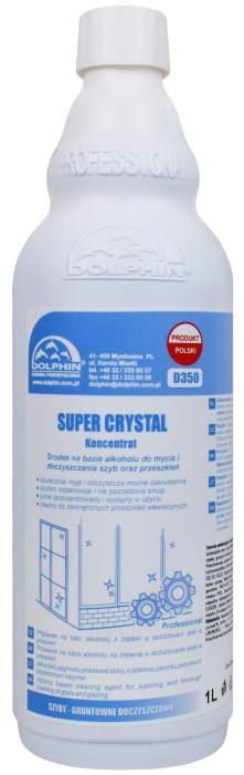 Dolphin Super Crystal 1l Koncentrat do szyb