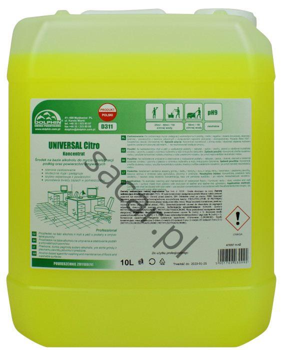 Koncentrat dolphin universal citro 10l do połóg