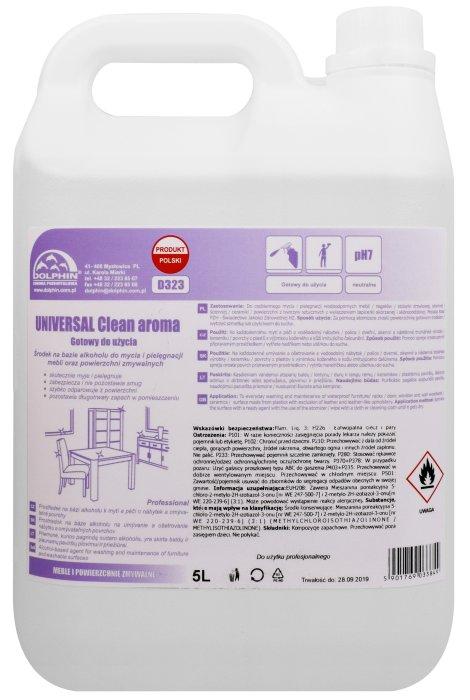 Płyn do mycia i pielęgnacji mebli Dolphin Universal Clean Aroma