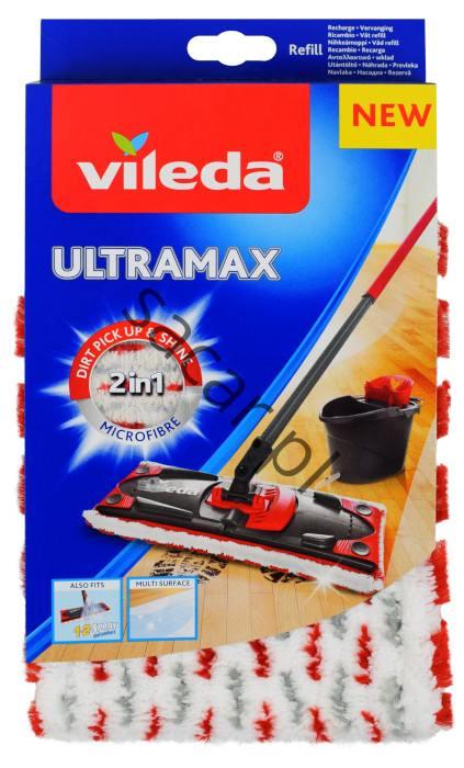 Vileda Mop Ultramax Czerwony