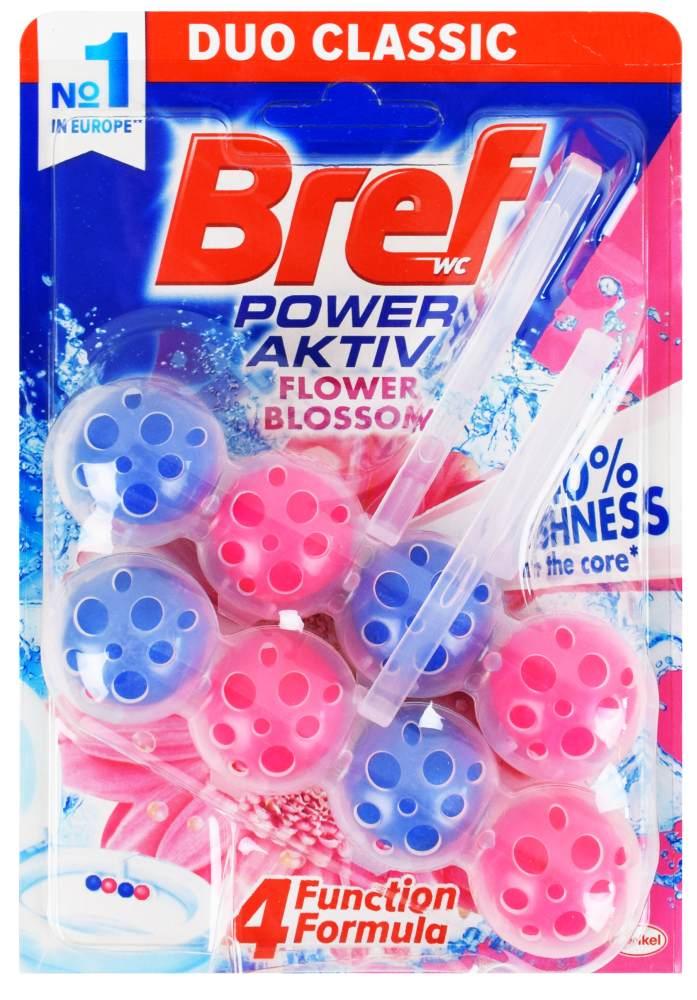 Kostka WC Bref Power Aktiv Flower Blossom