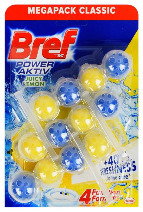 kostka toaletowa bref power aktiv juicy lemon