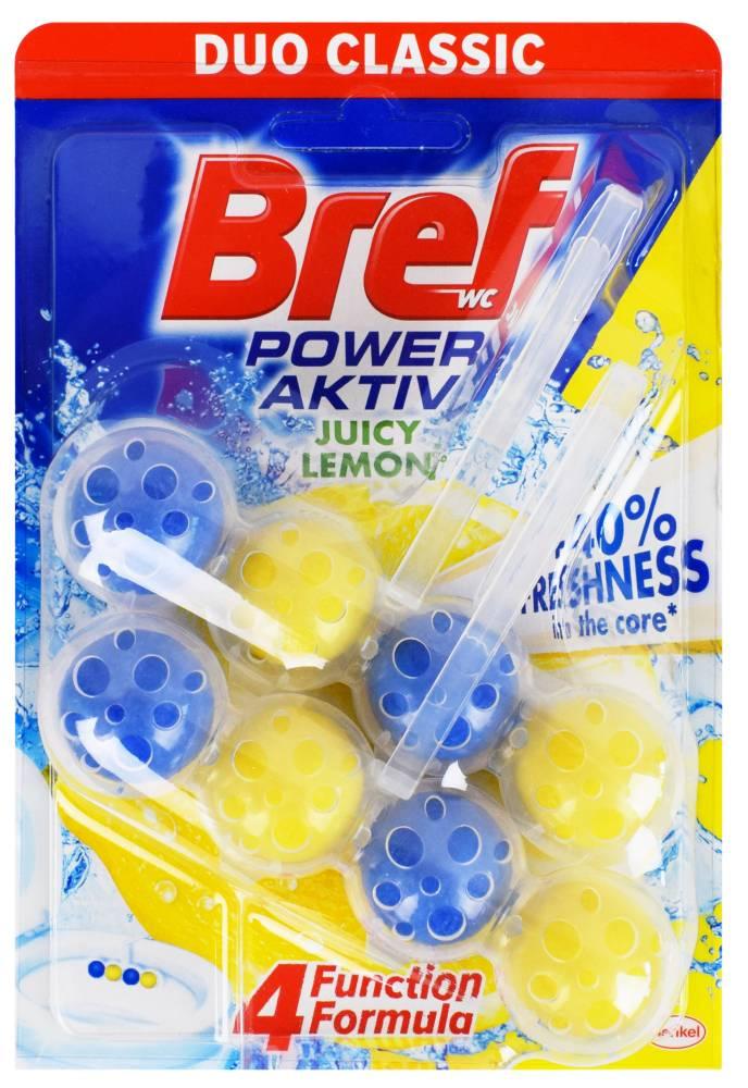 Kostka WC Bref Power Aktiv Juicy Lemon