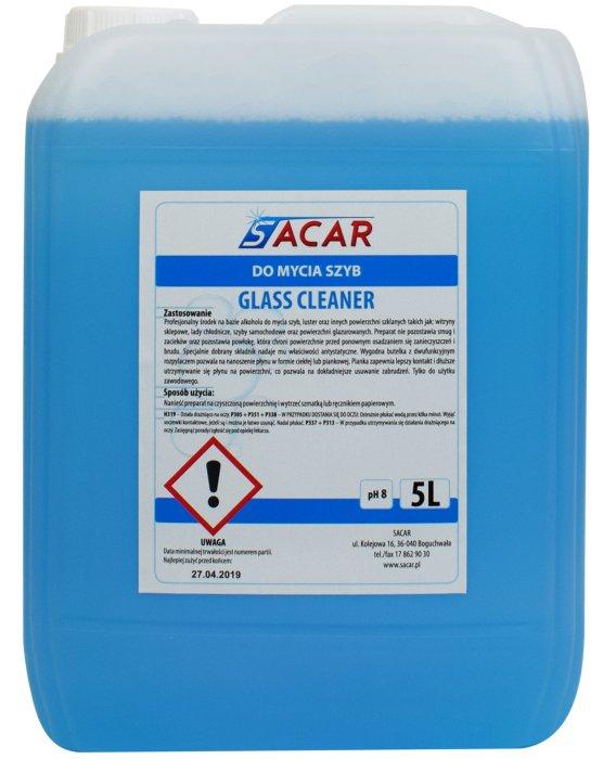 SACAR Glass Cleaner 5L