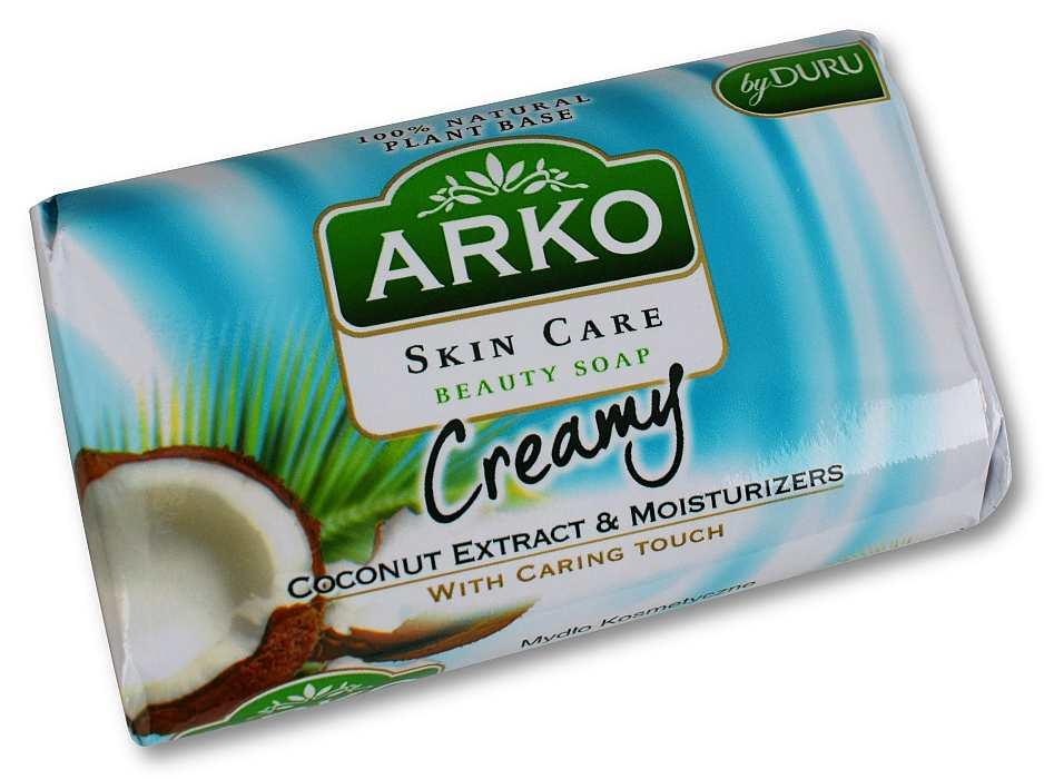 ARKO Kokosowe mydło w kostce