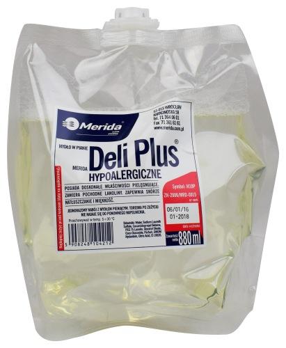 Mydło w pianie DELI Plus
