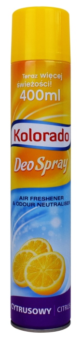 Odświeżacz powietrza Kolorado Deo Spray zapach Cytrusowy