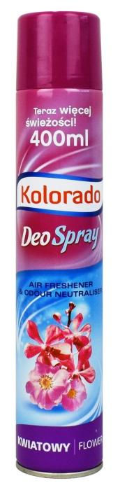 Odświeżacz powietrza Kolorado Deo Spray zapach kwiatowy