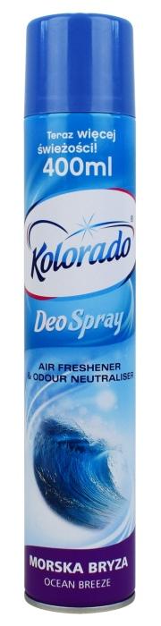 Odświeżacz powietrza Kolorado Deo Spray zapach Morski