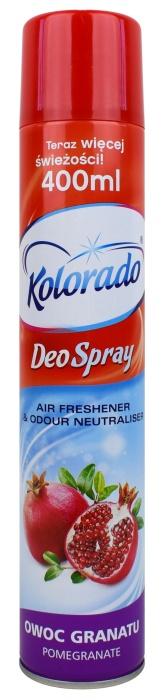 Odświeżacz powietrza Kolorado Deo Spray zapach owoc granatu
