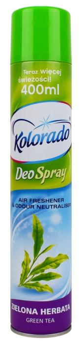 Odświeżacz powietrza Kolorado Deo Spray zapach zielonej herbaty