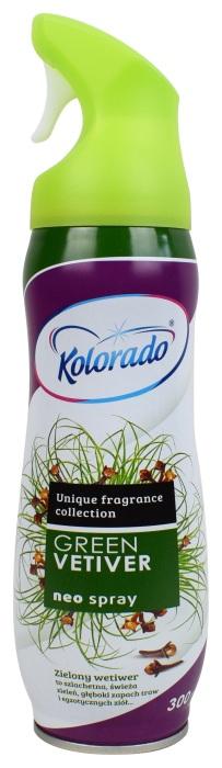 Odświeżacz powietrza w sprayu Kolorado Green Vetiver