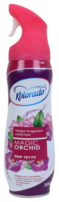 Odświeżacz powietrza w sprayu Kolorado Magic Orchid
