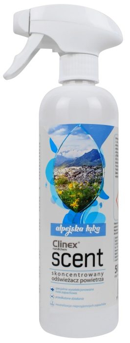 Odświeżacz Powietrza Clinex Scent Alpejska łąka