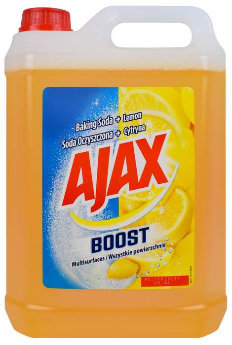 Ajax Boost soda oczyszczona + cytryna