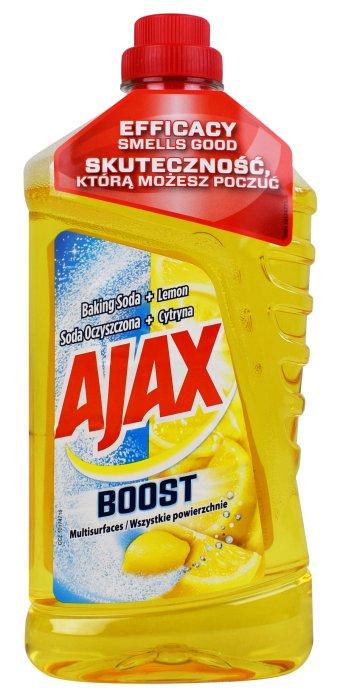 Ajax soda oczyszczona cytryna