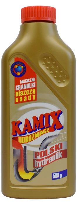 Granulki do udrażniania rur Kamix