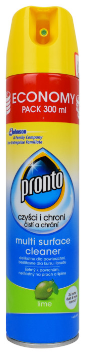 Pronto multi surface cleaner lime