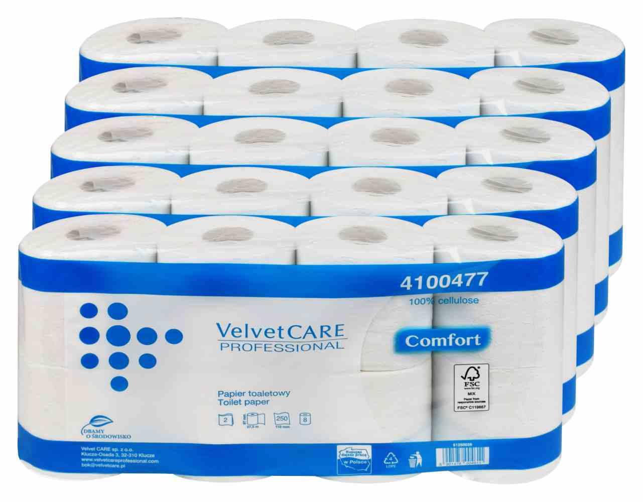 Papier toaletowy Velvet Care 4100477