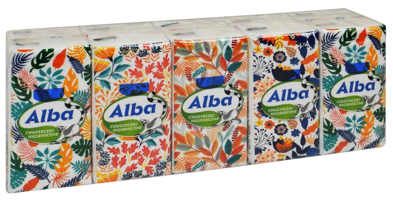 Chusteczki higieniczne Alba 10szt