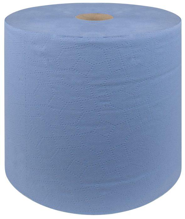 Niebieskie czyściwo makulatura