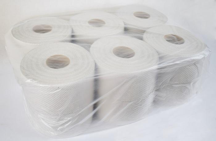 Papier toaletowy Jumbo szary 12 sztuk