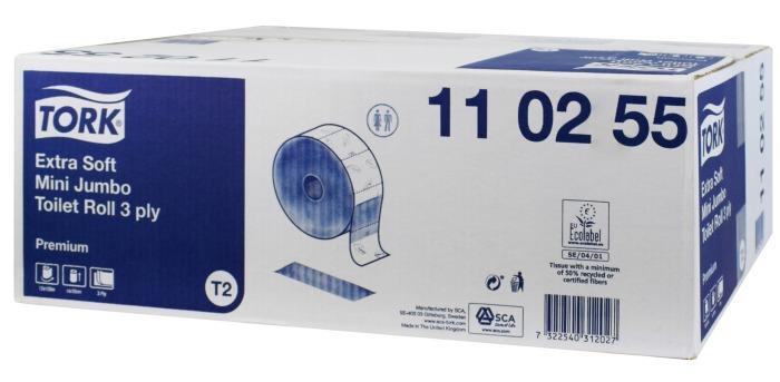 Papier toaletowy Tork Mini Jumbo Premium
