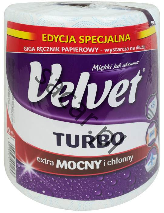 GIGA Ręcznik papierowy Velvet TURBO