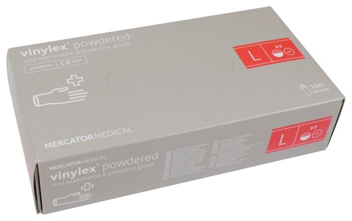 Rękawice Winylowe Vinylex L Mercator