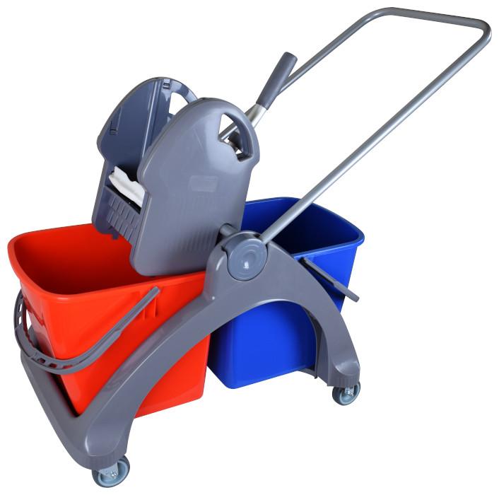 Dwuwiaderkowy wózek do sprzątania SPLAST