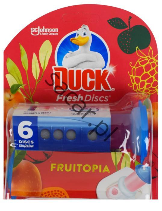 Duck Fresh Discs Fruitopia starter + 6 żelowych krążków