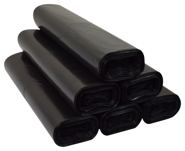 Worki na śmieci 35l LDPE Czarne