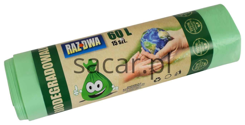 Biodegradowalne worki na śmieci BIO