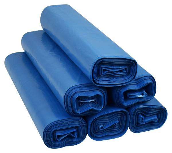 Worki na śmieci 60l ldpe niebieskie