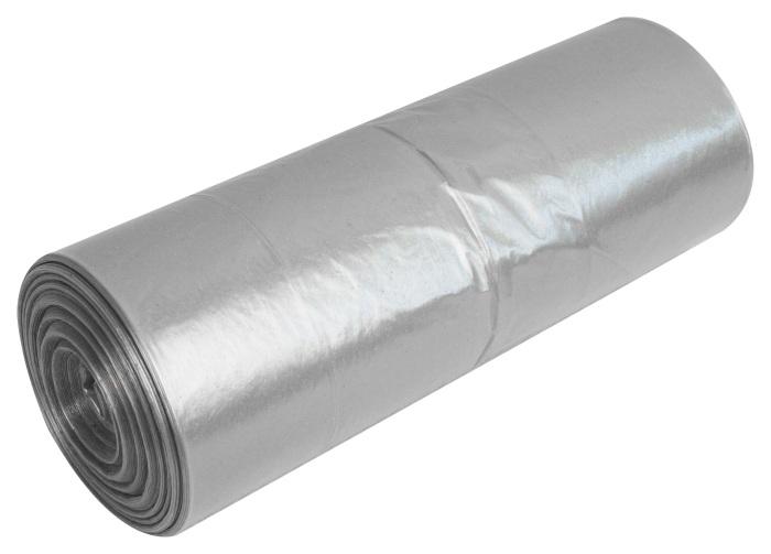 Transparentne przeźroczyste worki na śmieci Raz Dwa 160l LDPE