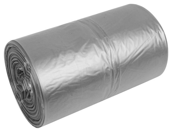 Transparentne przeźroczyste worki na śmieci Raz Dwa 35l 50szt LDPE