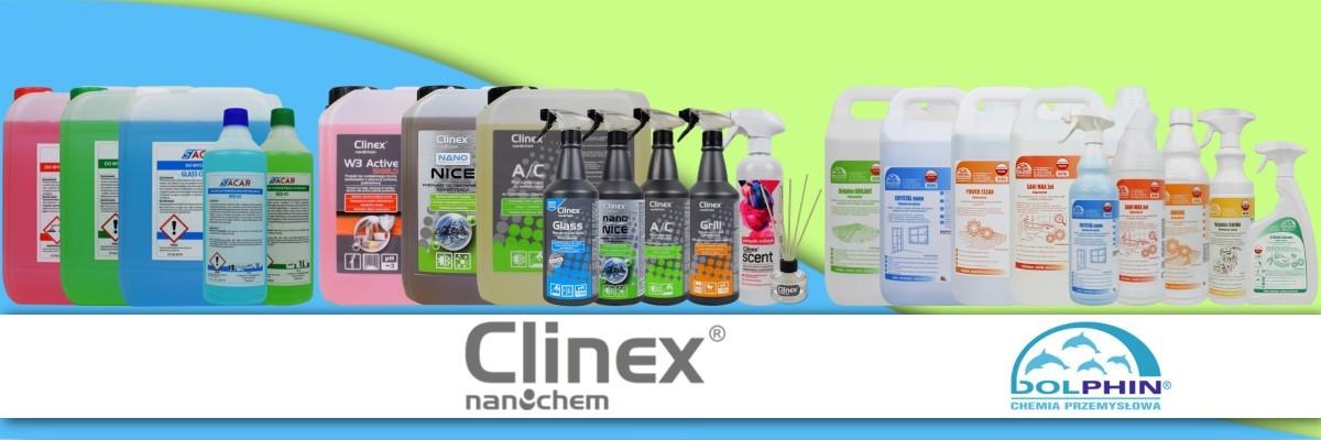 Hurtownia chemii czyszczącej, mydło, czyściwo, papier, podkład.